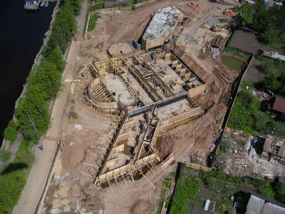 """Строительство гостиницы для компании """"Роснефть"""" СПБ"""